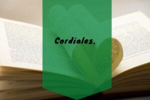 Cordiales.