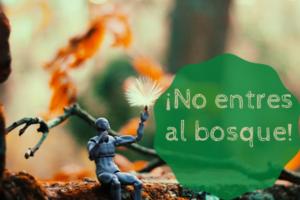 ¡No entres en el bosque!